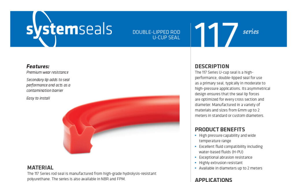 114 Series Compact Rod Seal