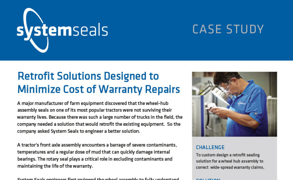 Retrofit Solutions Designed to Minimize Cost of Warranty Repairs