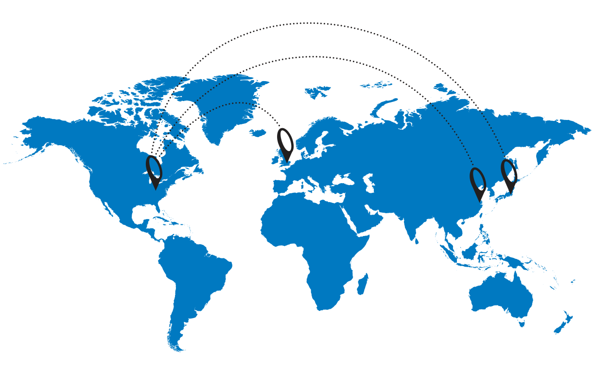 System Seals Locations Map