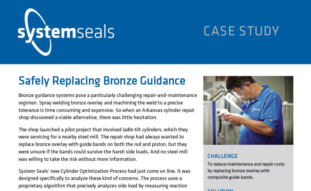 Safely Replacing Bronze Guidance