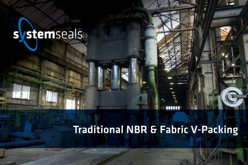 System Seals V-Packing: Traditional NBR & Fabric V-Packing